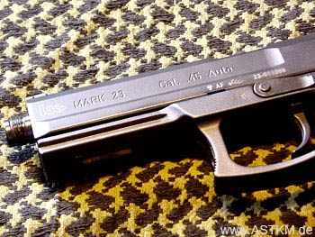 Markings auf der Heckler & Koch Mark 23
